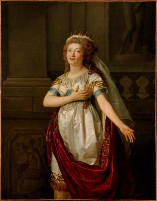 Anne Vallayer-Coster, chef du cabinet de peinture de Marie-Antoinette F8809910