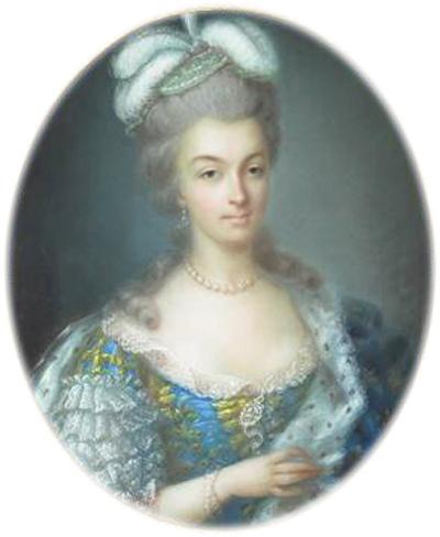 Anne Vallayer-Coster, chef du cabinet de peinture de Marie-Antoinette Marie_11