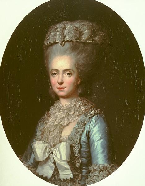 Anne Vallayer-Coster, chef du cabinet de peinture de Marie-Antoinette Portra10