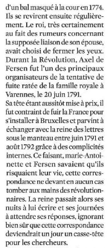 La correspondance de Marie-Antoinette et Fersen : lettres, lettres chiffrées et mots raturés - Page 24 Scienc11