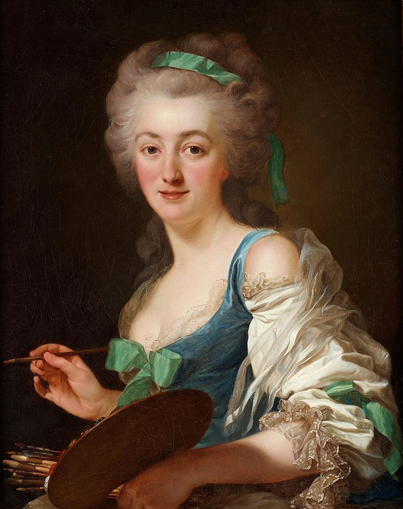 Coster - Anne Vallayer-Coster, chef du cabinet de peinture de Marie-Antoinette The_ar10