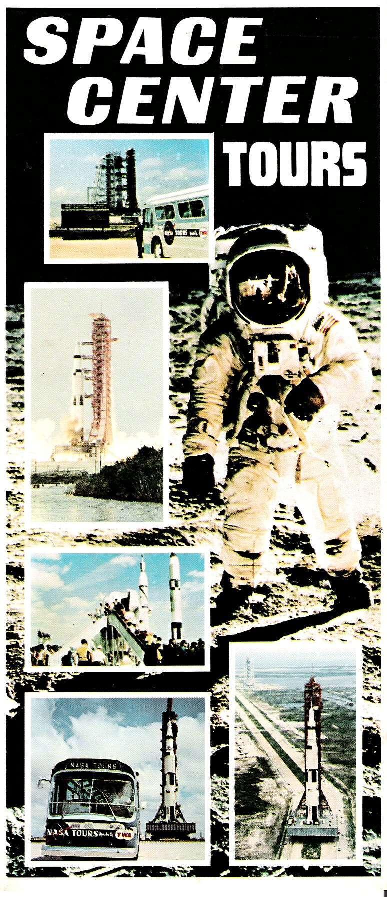 Plaquette info sur KENNEDY SPACE CENTER des années 80 Image211