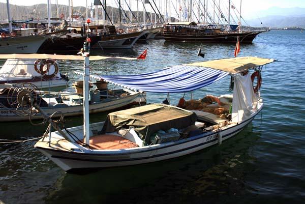 Bateau de pêche turc Fethiye Fethiy10