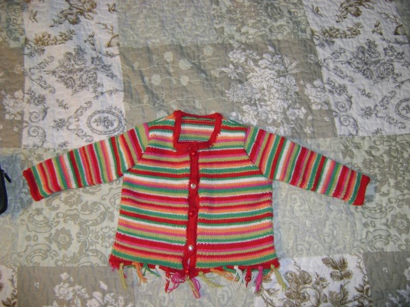 gilet bébé  Dsc03411