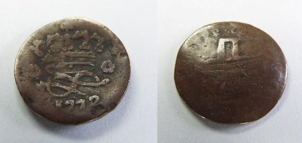 2 deniers pour Charles Emmanuel III 177210