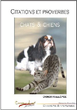 Citations et proverbes - chats et chiens (Didier Hallépée) Couver11