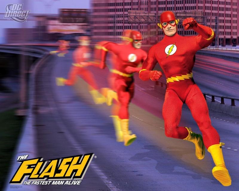 DC DIRECT: GREEN ARROW, FLASH, MANHUNTER, SHAZAM!, AQUAMAN  Flash10