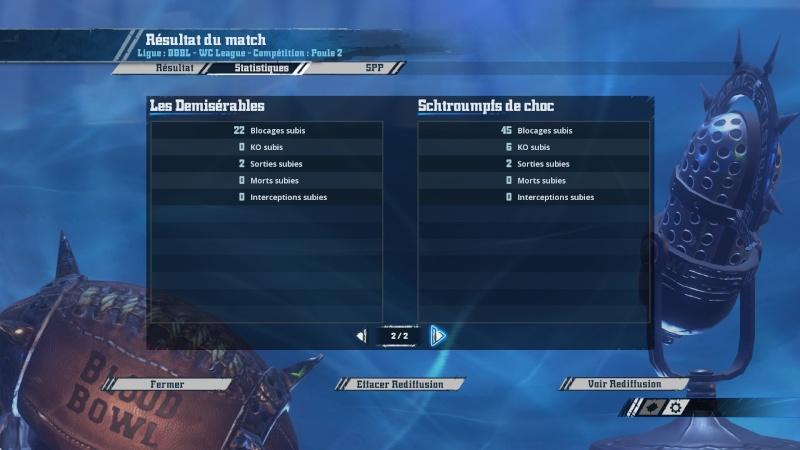 [World Cup J2] Les Demisérables (ash) 2 - 1 (f2c) Qchroumpfs de choc  2016-017