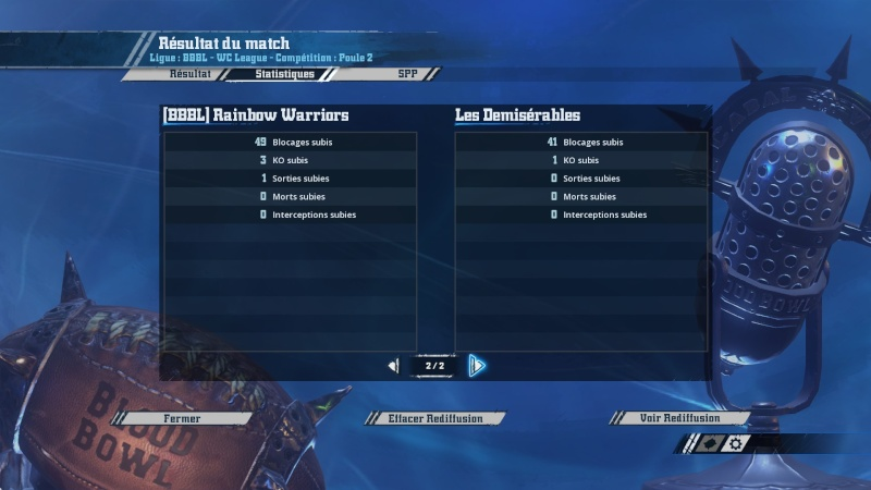 [WC j5 p2] Les démisérables (ash) 2-1 (Momie) Rainbow Warriors 20160316