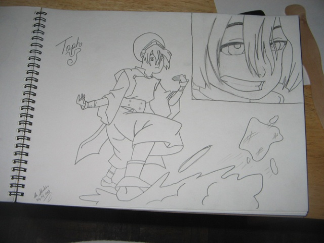 Adam's Pro Drawings Toph10