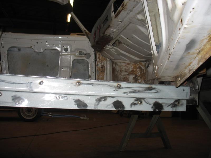 restauration kg cab de 1963 Karman15