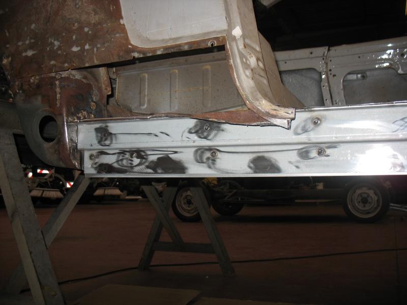 restauration kg cab de 1963 Karman16