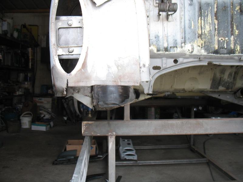 restauration kg cab de 1963 Karman42
