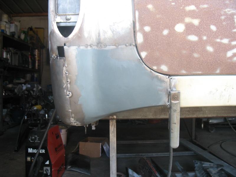 restauration kg cab de 1963 Karman45