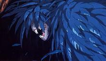 Kurokō, dans un silence des plus totale, il entre et se montre, sous sa vraie forme... Hauru_10