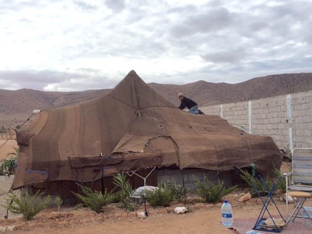 [Maroc Camp/Dernières nouvelles] Tempête chez Lahcen à Bouizakarne (Camping Tinnoubga) Image13