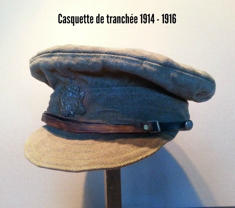Présentation du casque Canadien de 1914 a nos jours.  110