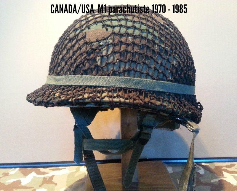 Présentation du casque Canadien de 1914 a nos jours.  1110