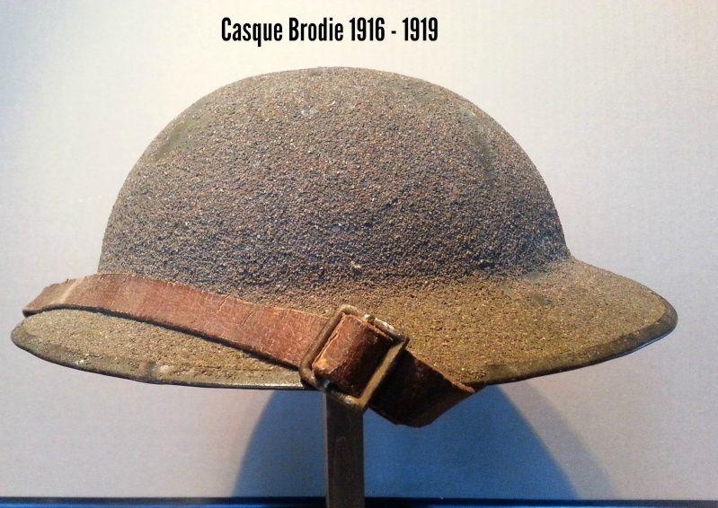 Présentation du casque Canadien de 1914 a nos jours.  210