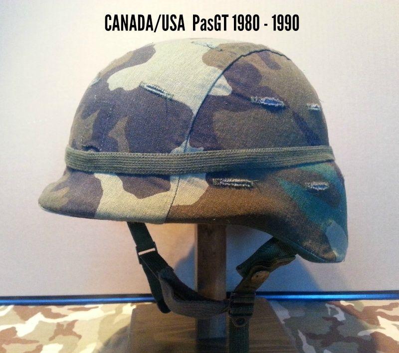 Présentation du casque Canadien de 1914 a nos jours.  2210