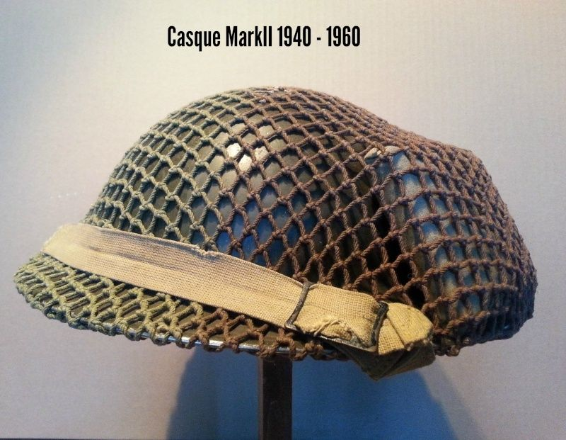 Présentation du casque Canadien de 1914 a nos jours.  410