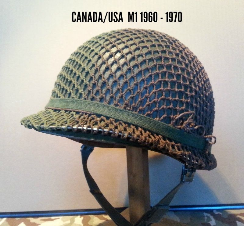 Présentation du casque Canadien de 1914 a nos jours.  810