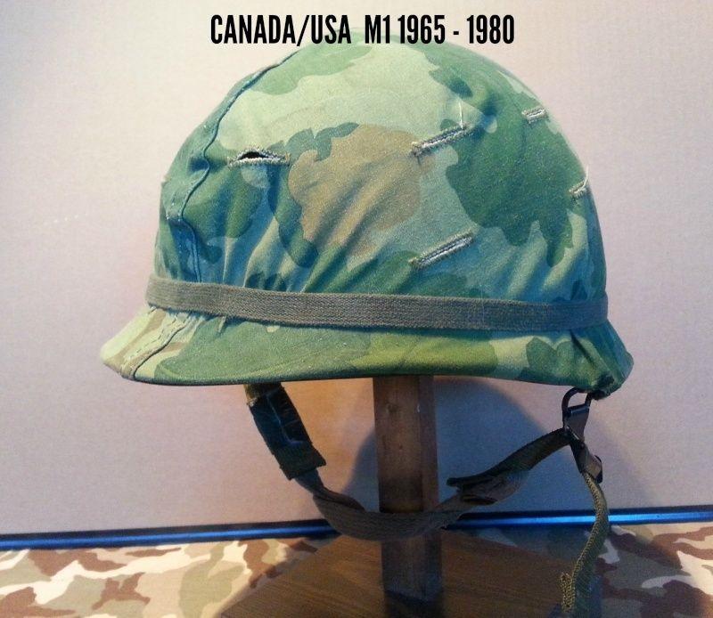 Présentation du casque Canadien de 1914 a nos jours.  910