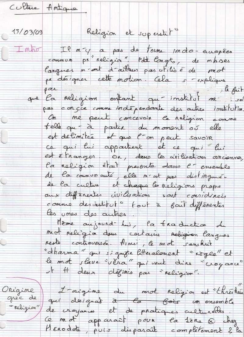 RELIGION ET SUPERSTITION / partie 1 Numari14