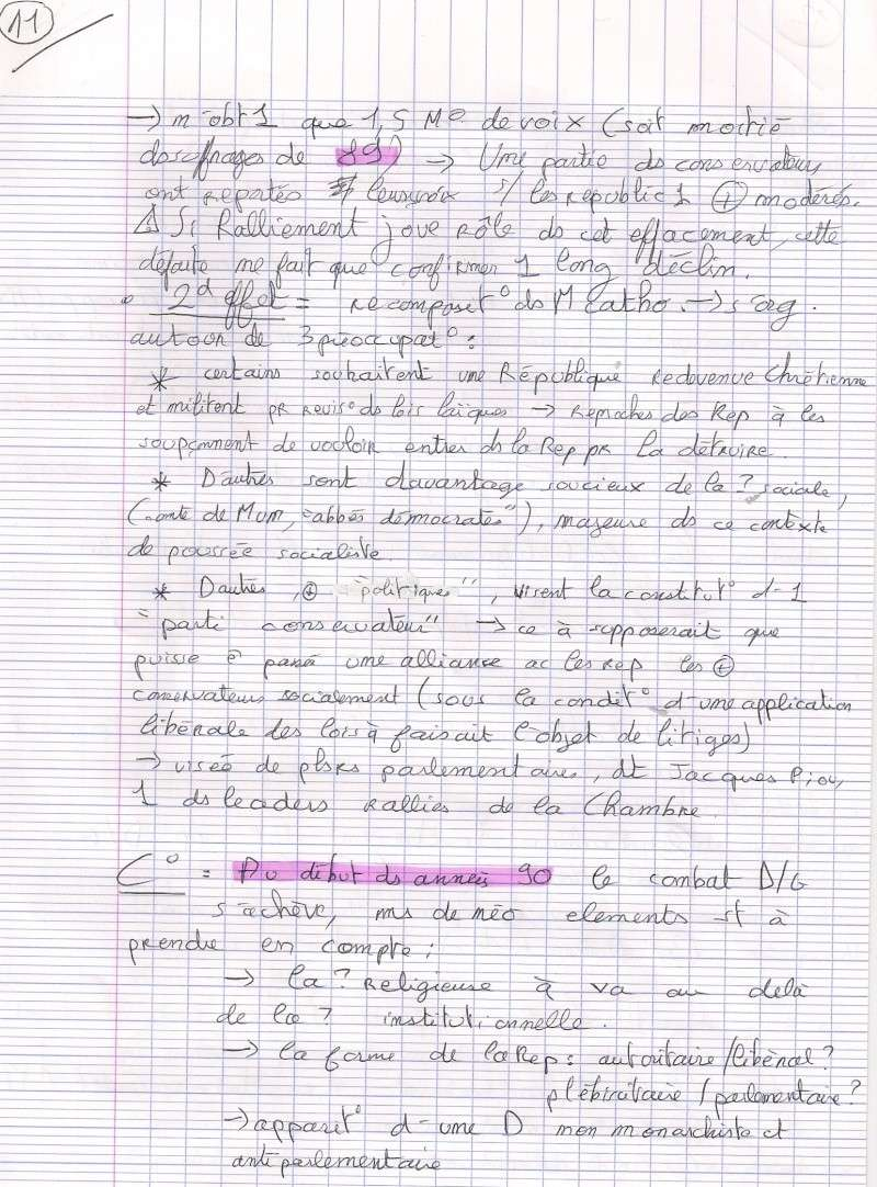 """""""les droites en France"""" (que sais je) chapitre 4 Numari28"""