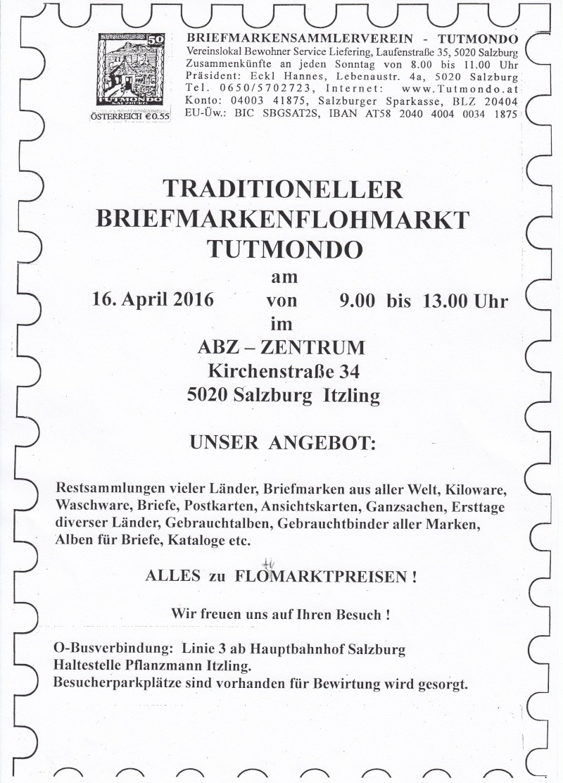 Traditioneller Tutmondo Briefmarkenflohmarkt in Salzburg Img10