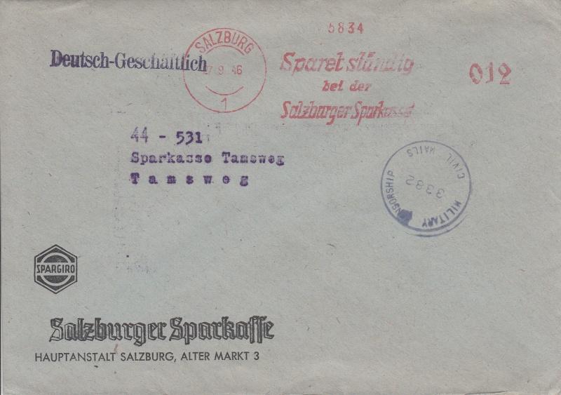 Briefe / Poststücke österreichischer Banken - Seite 3 Img11