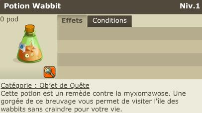 Ile Wabitt ( Comment acceder et rentrer dans le centre de l'île ? ) Potion10