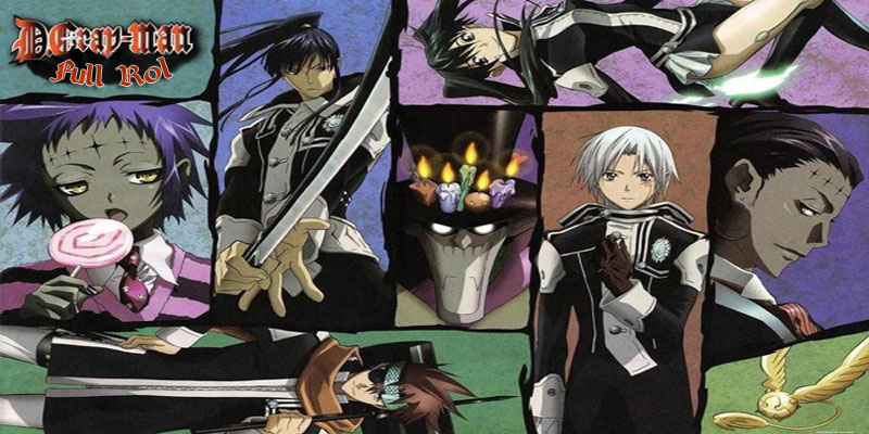 D.Gray Man Full Rol