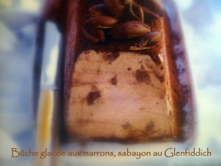 Bûche glacée aux marrons, sabayon au Glenfiddich Img_1333