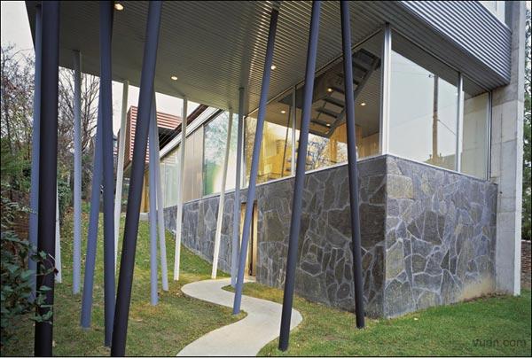 Villa d'All Ava  OMA Rem Koolhaas  Saint-Cloud, France, 1984-91 12057210
