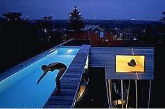Villa d'All Ava  OMA Rem Koolhaas  Saint-Cloud, France, 1984-91 Allava13