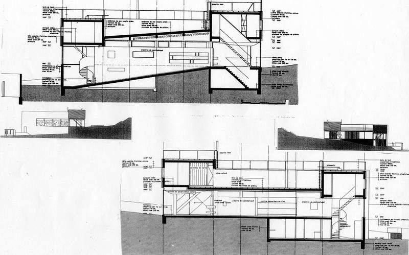 Villa d'All Ava  OMA Rem Koolhaas  Saint-Cloud, France, 1984-91 Avacou11