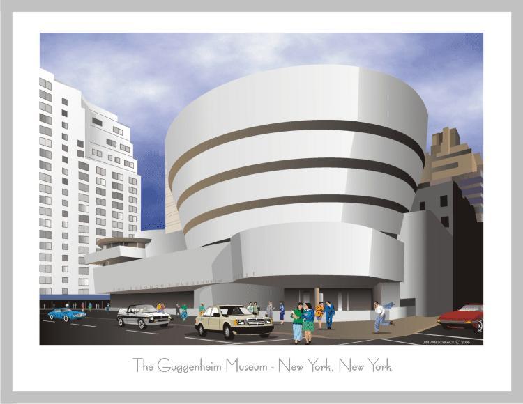 Frank lloyd-Wright : le Musée Guggenheim Guggen10