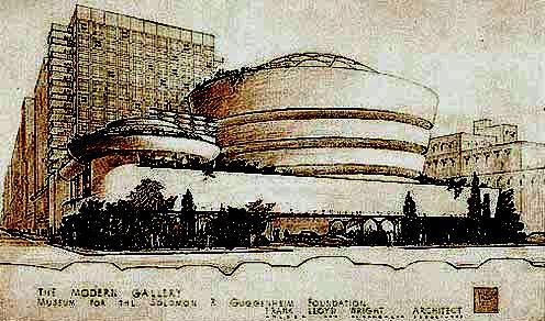 Frank lloyd-Wright : le Musée Guggenheim Lloyd-11