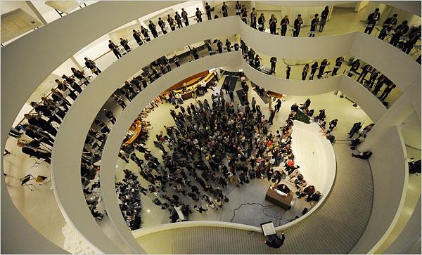 Frank lloyd-Wright : le Musée Guggenheim Orbits10