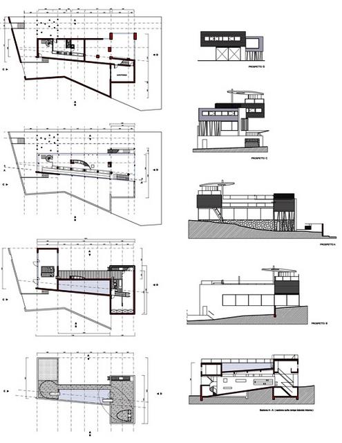 Villa d'All Ava  OMA Rem Koolhaas  Saint-Cloud, France, 1984-91 Villad10