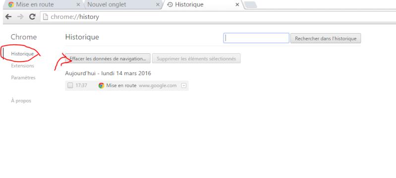 Vider le cash de Google Chrome Captur22