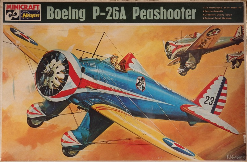 P-26 Peashooter [1/32 Minicraft - Hasegawa] P3132610