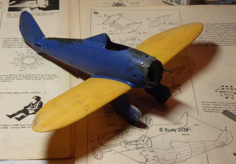 P-26 Peashooter [1/32 Minicraft - Hasegawa] P3172610
