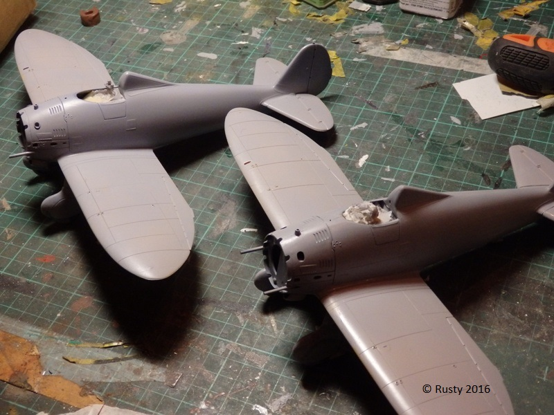 P-26 Peashooter [1/32 Minicraft - Hasegawa] P3192615