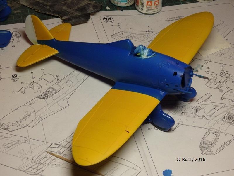 P-26 Peashooter [1/32 Minicraft - Hasegawa] P3202611