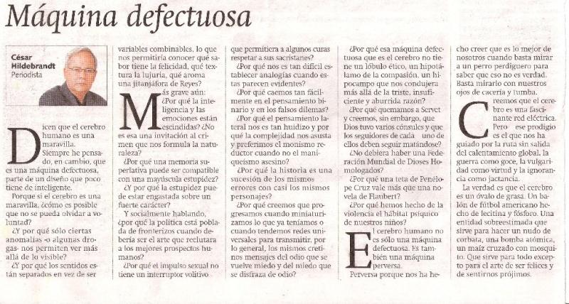 """Máquina Defectuosa"" por César Hildebrandt Maquin12"