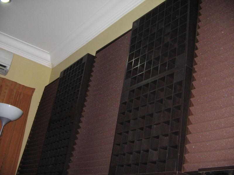 Wedge absorption panels 2'x4' (Used) Img_2110