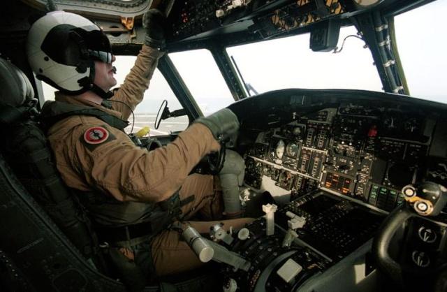 Charles de Gaulle Mission Héraclès 2001-2002 Pilote10