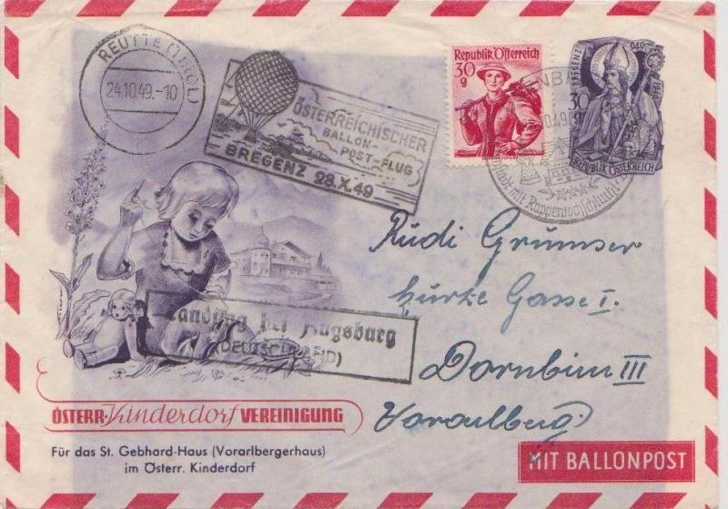 Die Privatganzsachen der österreichischen Ballonpost Forum107
